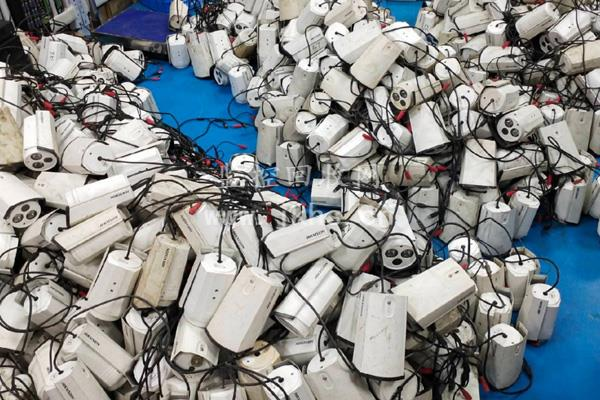 回收工程拆机二手摄像头