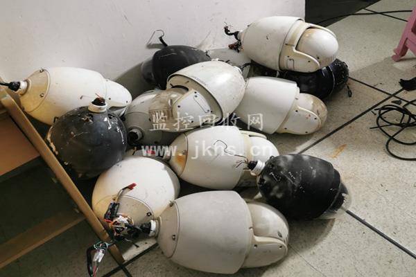 升级换代监控球机回收