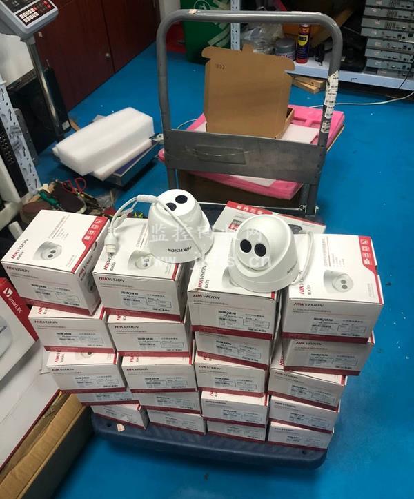 全新海康半球摄像机回收